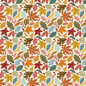 Bright Autumn Leaves Small