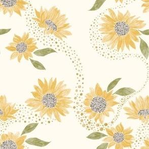 Whimsical Sunflowers