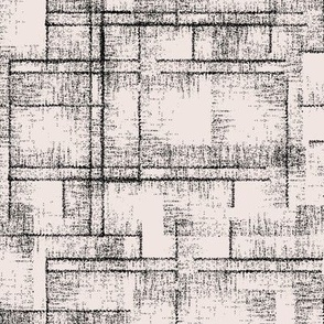 detailed textured blender pattern in black