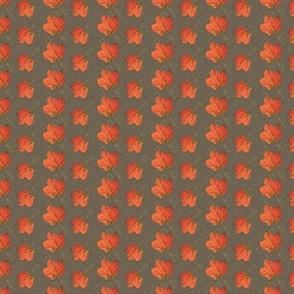 Fall Leaves-bark and grass (medium)