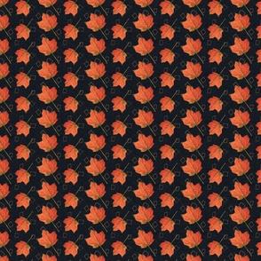 Fall Leaves-graphite and mushroom (medium)