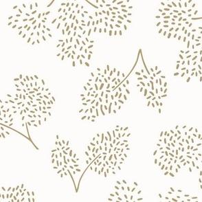 sweet floral blender pattern in beige