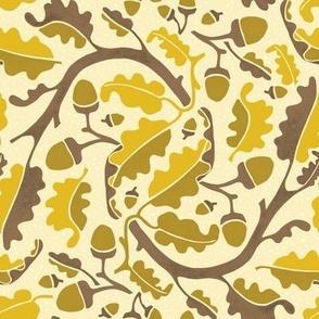 Autumn Acorn Yellow