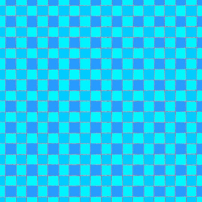 blue squares fat quarter 1