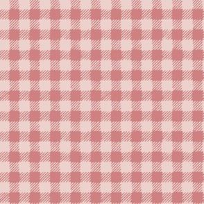 Scratchy Gingham Pink - Nerida Hansen