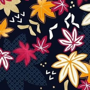 Japanese Maple Autumn Leaves