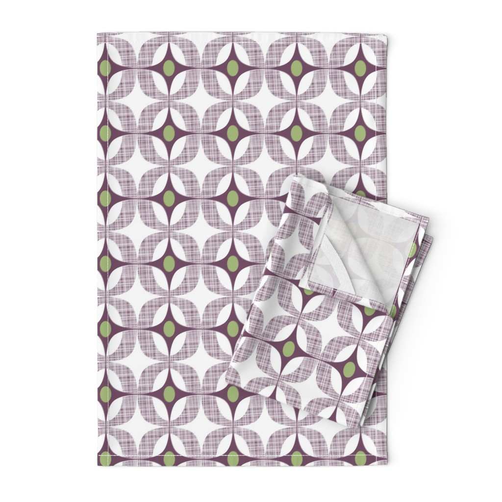 Orpington Tea Towels featuring Blackcurrant Box by spellstone