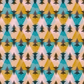 Geometric Joy in the Winter Forest small