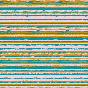 Joy in the Winter Forest stripes horizontal