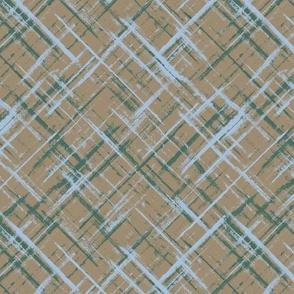 Striped grunge pattern