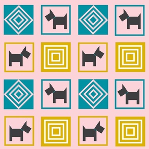 Dog patchwork