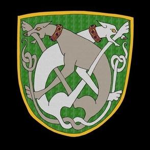 Celtic Greyhounds Shield