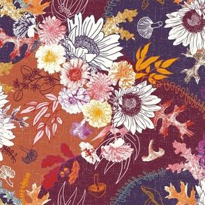 Autumn Botanical Bouquet