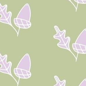 Lilac Acorn