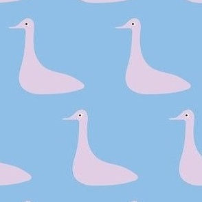 Lilac Duck
