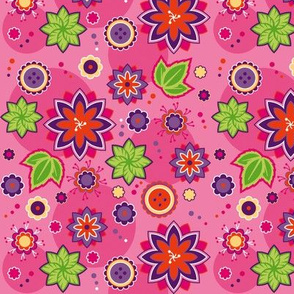 Flowers Lilapink mini