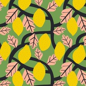 Lemon Tree Green - Isa Form for Nerida Hansen