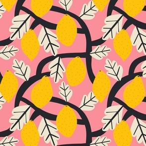 Lemon Tree Cerise - Isa Form for Nerida Hansen