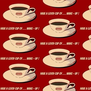 Cup of wake-up