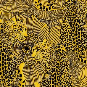 LEOPARD print yellow