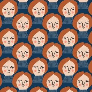 Andrea Blue - Isa Form for Nerida Hansen
