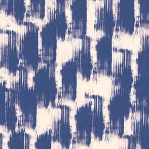 Batik Inspired Color Splash In blue