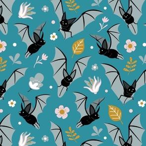 Joyful Bats Floral Large