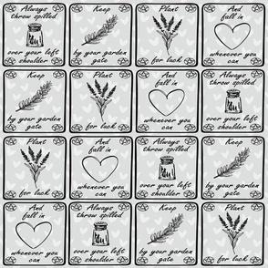 Practically Magic Gray Hearts