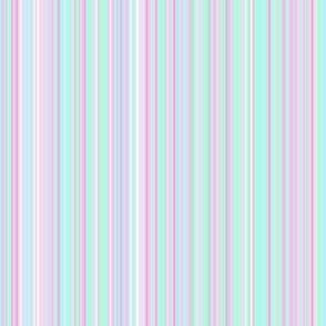 Stripe aqua lavender
