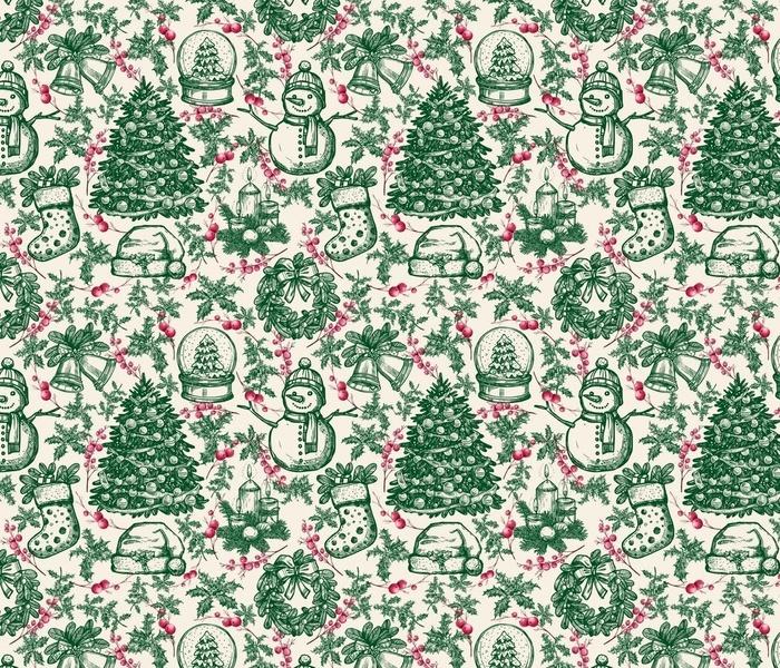 Christmas Toile