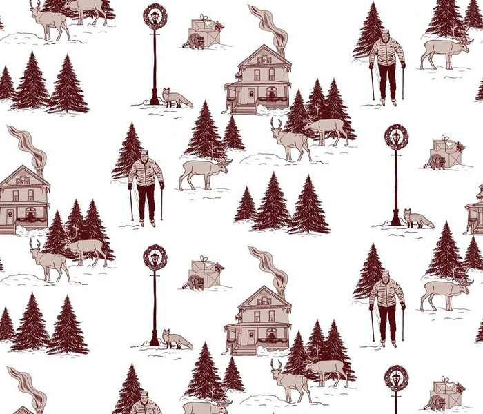 Holiday feels Toile