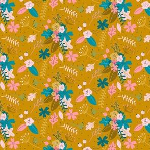 Joy Flowers mustard