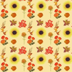August Flowers Light Yellow