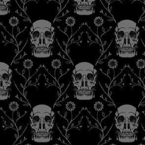 "Vintage Skulls, XXL, 21"""