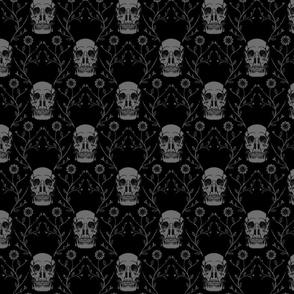 "Vintage Skulls, L, 10.5"""