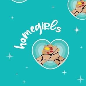 Homegirls Por Vida - Aqua