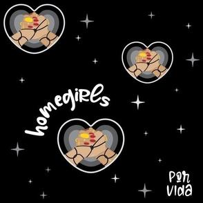 Homegirls Por Vida - Black
