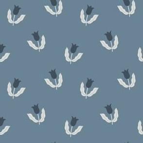 Small tulips - Blue hues