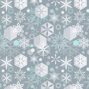 crystal snowflakes (snow)