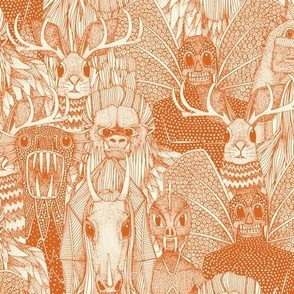 cryptid crowd orange pearl small