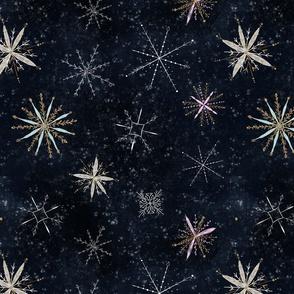 Flora snowflakes