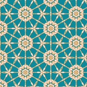 joyfully blooming  mandala  trending current table runner tablecloth napkin placemat dining pillow duvet cover throw blanket curtain drape upholstery cushion duvet cover clothing shirt wallpaper fabric living home decor