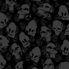 """Skulls dark, XL, 21"""""""