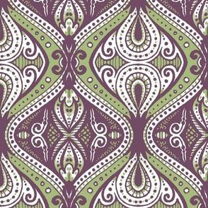 Dacia (Green and Violet)