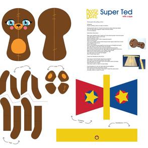 Super Ted ragdoll