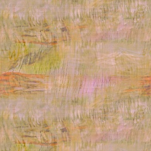 Baked Pastel Abstract Beige