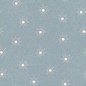 Small Scale Sun - pale blue