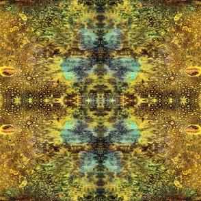 Golden Turquoise Butterflies