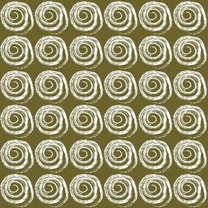 Coiled Snake Green