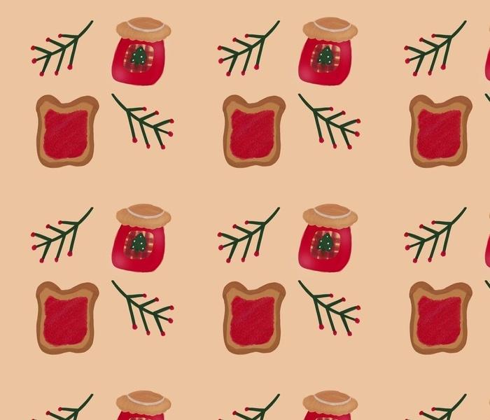 Christmas jam & toast